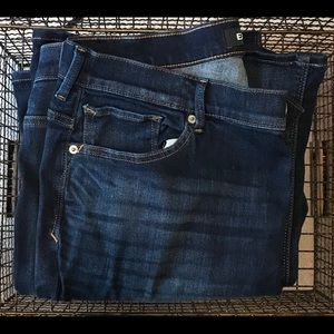 Express Bell Flare High Rise Jeans size 16 Long